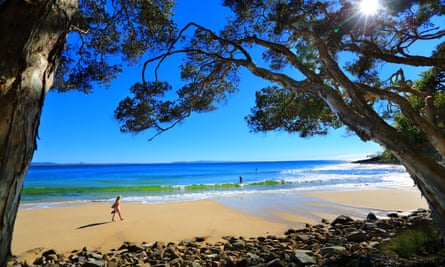 TeaTree Bay in Noosa national park, Sunshine Coast.