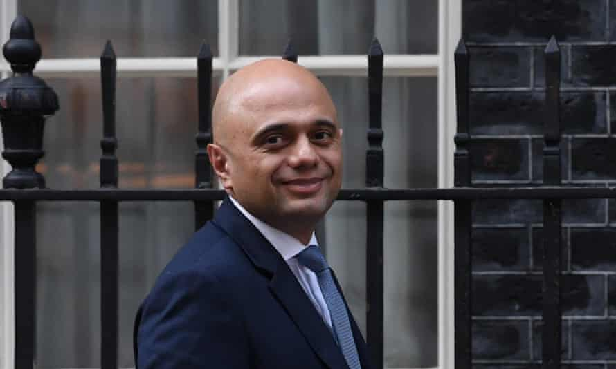 Sajid Javid's Home Office wrongly excluded people with no convictions from a review of cases.