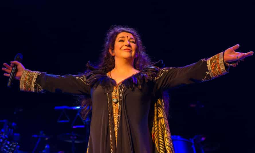 Kate Bush said she was terrified by her comeback shows at the Hammersmith Apollo in London last year.