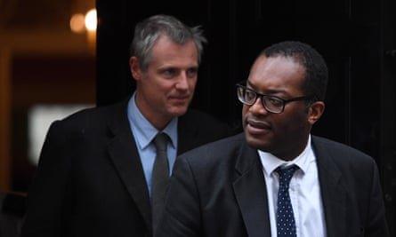 Lord Goldsmith (left) and Kwasi Kwarteng are part of the team representing the UK in next year's talks.