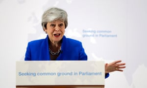 Theresa May outlines a new Brexit deal, May 2019