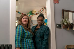 'A slap of sea-fresh air': Aidy Bryant, left, and Lolly Adefope in Shrill