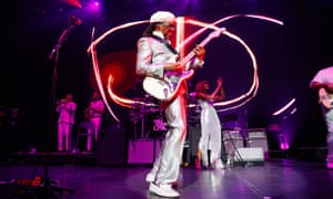 Every reason to celebrate ... Nile Rodgers and Chic at the Royal Festival Hall.