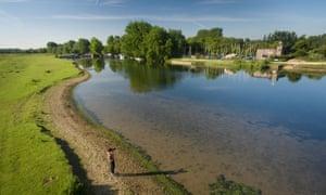 Port Meadow. Oxford, UK