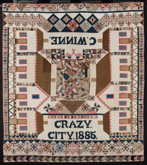 Crazy City, 1885. Attributed to C. Winne (American, 19th century)