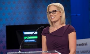 Democratic candidate Kyrsten Sinema could be the first openly bisexual senator.