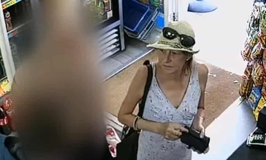 Novichok victim Dawn Sturgess, recorded shopping on CCTV shortly before she fell critically ill.
