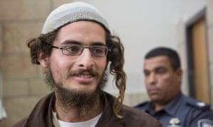 Meir Ettinger, who was arrested last week