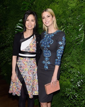 Drng Murdoch with Ivanka Trump in 2015.