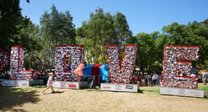 The Garden of Unearthly Delights in Adelaide attracted 800,000 visitors last year, many of whom were locals