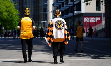 Morecambe v Newport County: League Two play-off final – live!