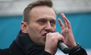 Navalny holds a rally in Izhevsk