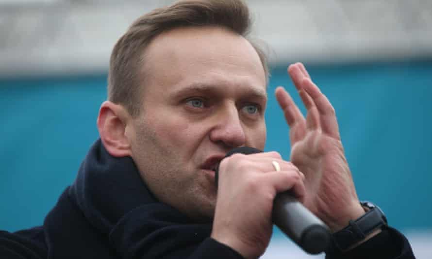 Navalny holds a rally in Izhevsk