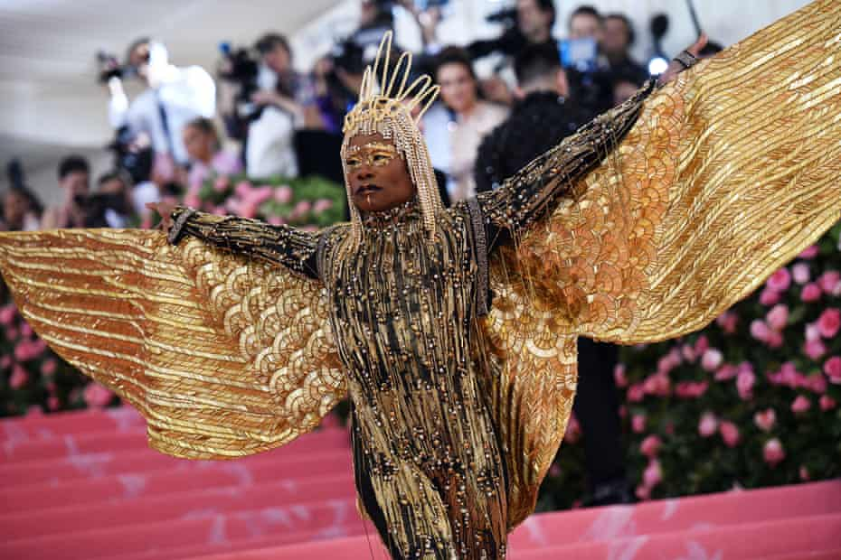 Billy Porter with wings.