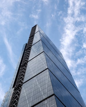 Construction work on the Leadenhall Building, known as the Cheesegrater, was halted during the last financial crisis.