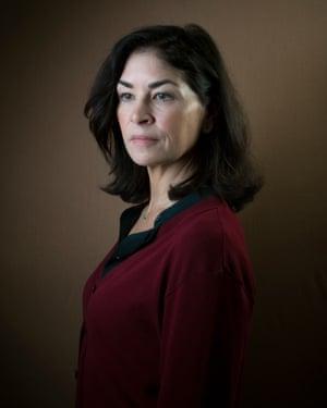 Author Sadie Jones photographed in Pimlico, London.