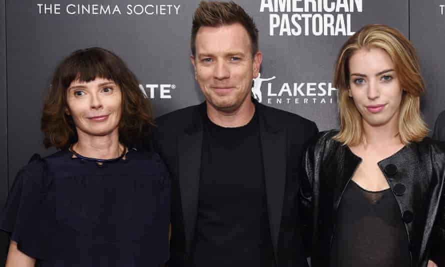 McGregor with his wife, Eve, and eldest daughter, Clara.