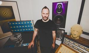 Ultraísta member and Radiohead producer Nigel Godrich.
