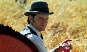 Sam Shepard in Days of Heaven in 1978.