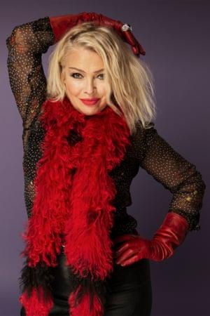 Singer Kim Wilde.