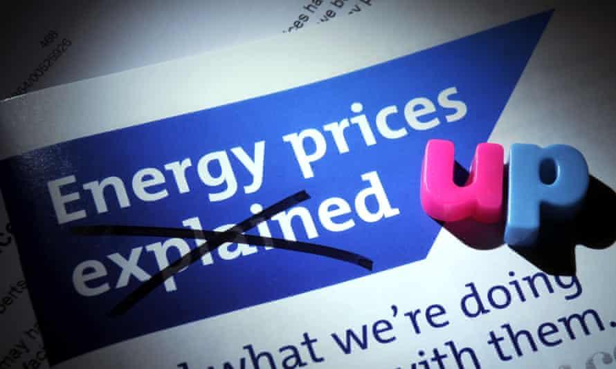 Energy bill leaflet