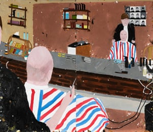 As a Bald man, I Miss Going to the Barber by Richard Lewer