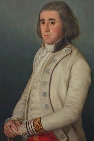 Don Valentín Bellvís de Moncada y Pizarro by Francisco de Goya around 1795