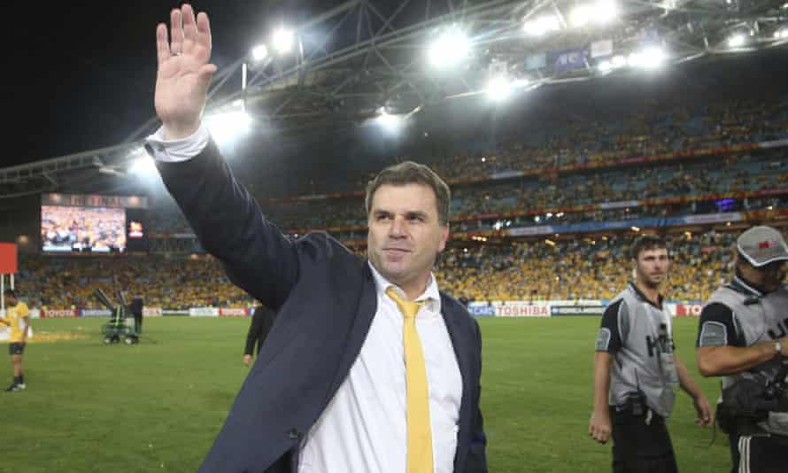 Australia's coach Ange Postecoglou