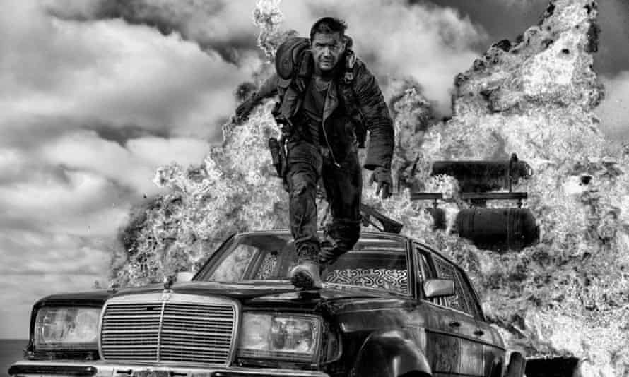 More elegant … Mad Max: Fury Road – Black and Chrome Edition.