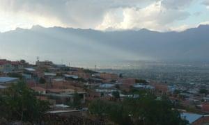 Alto Buena Vista, a neighbourhood in Cochabamba, Bolivia.