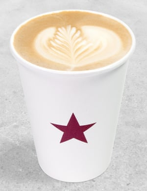 A Pret a Manger coffee