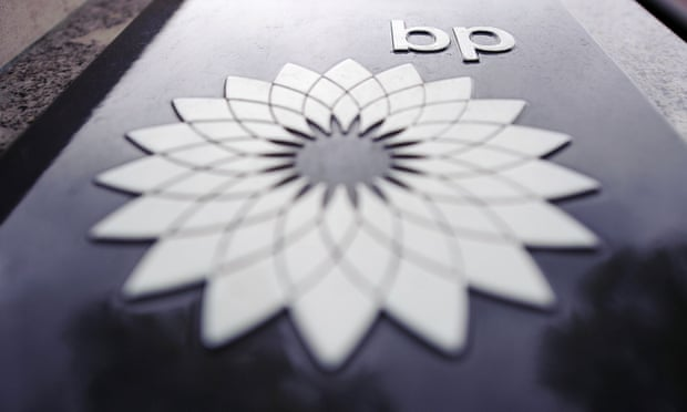 BP's profits have fallen by more than 40%.