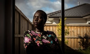 Melbourne based lawyer Nyadol Nyuon. Photograph by Christopher Hopkins for The Guardian