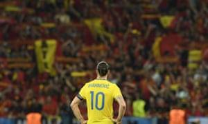 Sweden's Zlatan Ibrahimovic says farewell to Euro 2016