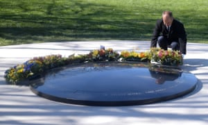 Peter Greste lays a wreath at the war correspondents memorial at the Australian war memorial in Canberra on Wednesday.