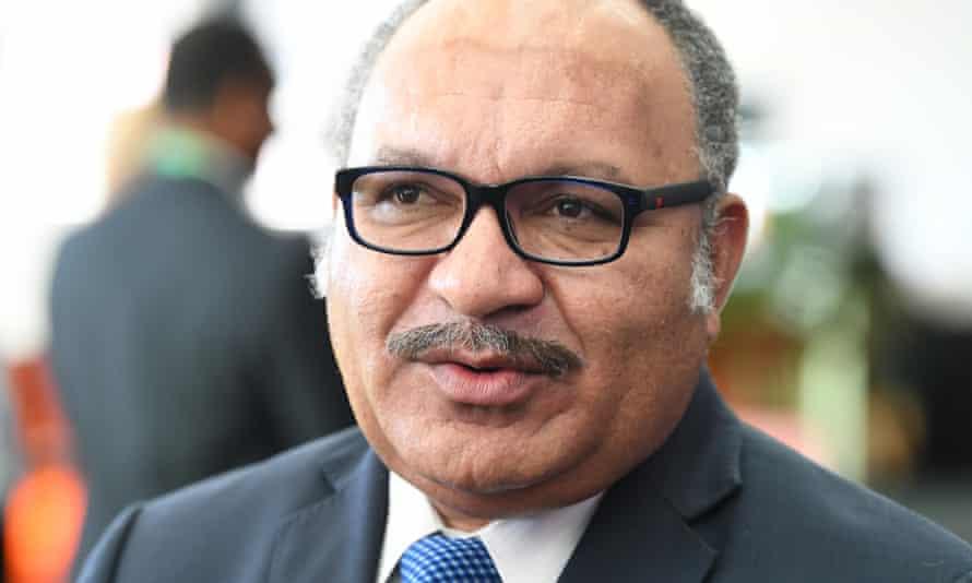 Papua New Guinea Prime Minister Peter O'Neill