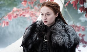 Sansa Stark in season seven of Game of Thrones
