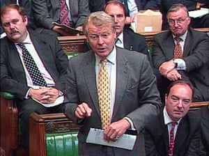 Ashdown in House of Commons
