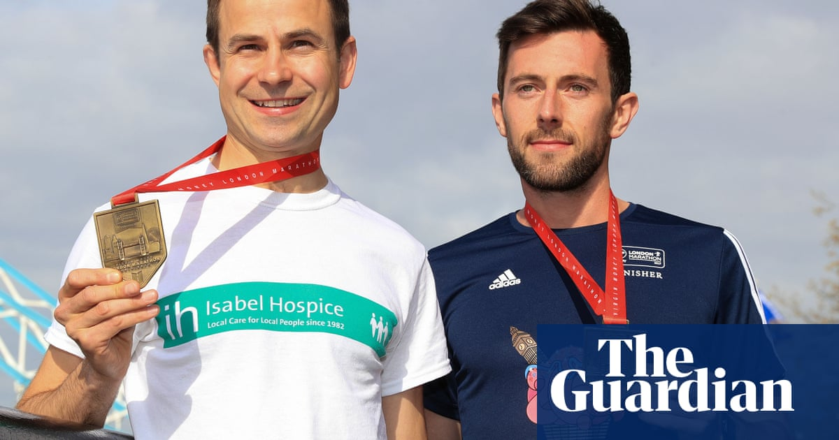 Marathon man Matthew Rees: 'It was fate  We were meant to cross the