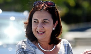 Queensland Labor leader Annastacia Palaszczuk has been in talks with independent Peter Wellington.