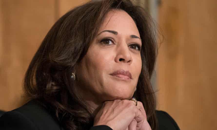 Kamala Harris, the Democrat senator from California.