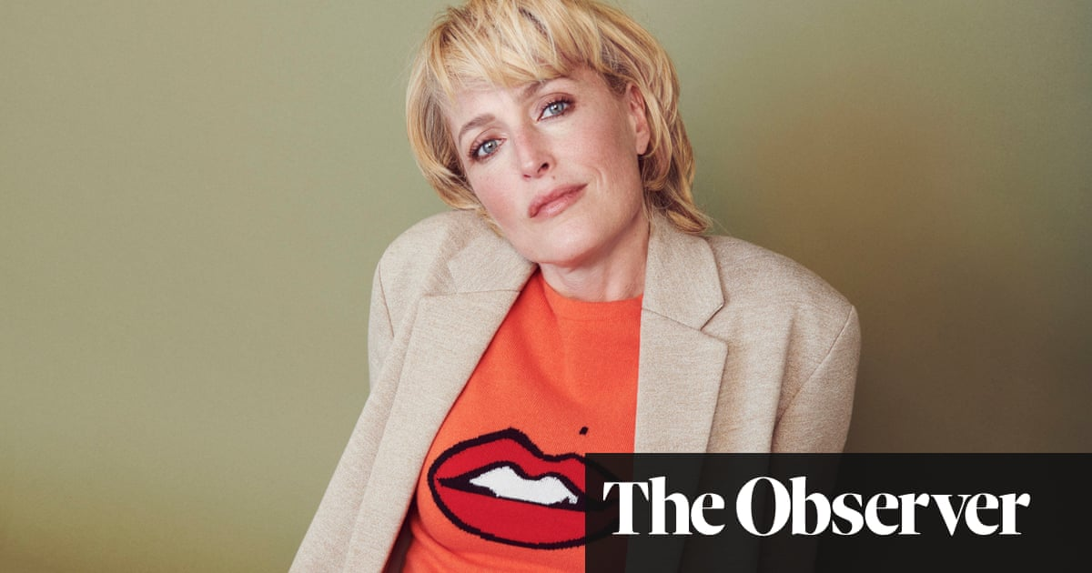 Gillian Anderson: 'I fall in love with my characters'
