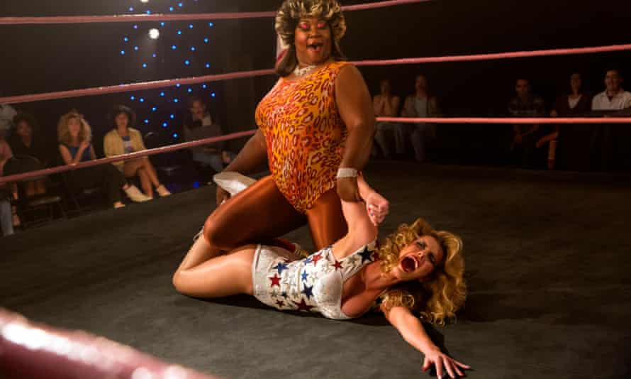 A scene from the new season of Glow.