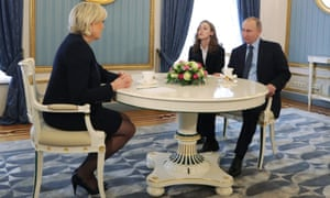 Le Pen with Putin