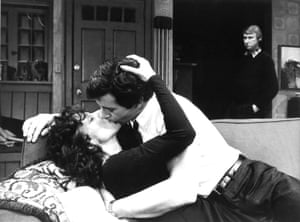 Really sexy … Elaine May in a clinch with James Naughton, as Mike Nichols looks on, in Who's Afraid of Virginia Woolf?