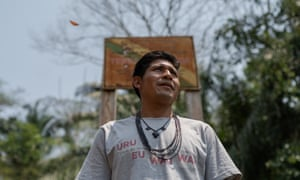 'We're scared,' said Awapu Uru-Eu-Wau-Wau, a 27-year-old cacique (chief) who has received death threats for speaking out against the invaders. 'Nobody wants to die.'