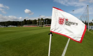 England's St George's Park base was the venue for the abandoned Under-19s game with Scotland. England led 3-1 at the time