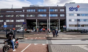 The OLVG hospital in Amsterdam, where two outpatient clinics have been closed.
