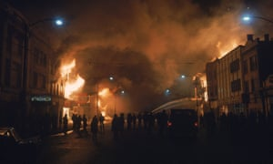 Riots in Chicago follow the assassination of Martin Luther King.