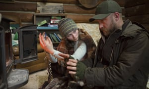 With Ben Foster in Leave No Trace.